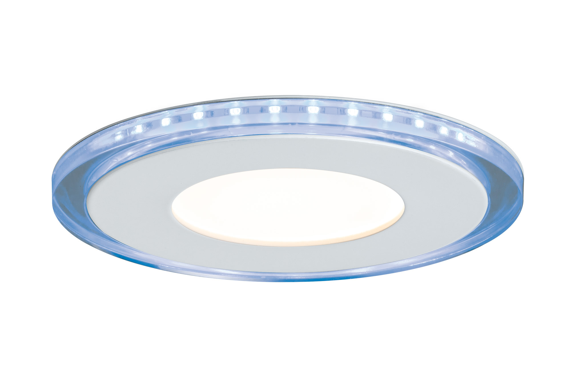 Paulmann. 92796 Premium EBL Set Panel Blue rd. LED 2x7W
