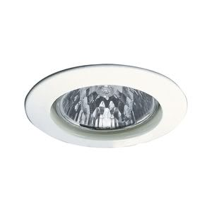 17943 Светильник встраиваемый Цинк, белый, 51мм, 50W Elegant material – high-quality finish. The halogen 12 V recessed lights of the Premium Line offer brilliant light and fulfil even the highest expectations for material quality and design. 179.43 Paulmann