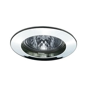 17946 Светильник встраиваемый GU 5.3 max 50W, хром Elegant material – high-quality finish. The halogen 12 V recessed lights of the Premium Line offer brilliant light and fulfil even the highest expectations for material quality and design. 179.46 Paulmann