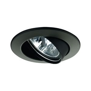 17951 Светильник поворотный Цинк, черный, 51мм, 50W Elegant material – high-quality finish. The individually swivelling halogen 12В V recessed luminaires of the Premium Line offer brilliant light and fulfil even the highest expectations for material quality and design. 179.51 Paulmann