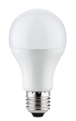 28349 LED Premium AGL 12,5W E27 230V 2700K The 10-watt general lamp emits its light in all directions. Even large lampshades are illuminated uniformly. It has a pleasant warm white light colour and fits in all standard E27 sockets. 283.49 Paulmann