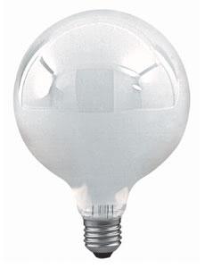 10000 Лампа накаливания 230V 100W Е27 Шар (D-125mm, H-170mm) мягкий опал 100.00 Globe 100W E27 169mm 120mm Soft opal Paulmann