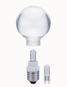 12344 123.44 Miniglobe 60 MiniHalogen 40W E27 Clear with Replacement lamp Paulmann