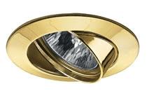 Einbauleuchte Premium Line 51 mm Gold, schwenkbar