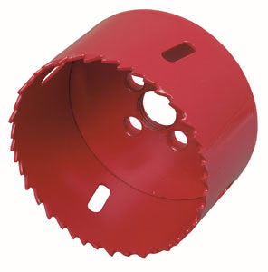 243 Фреза 73mm 2.43 Hole saw application ø 73mm Red Paulmann