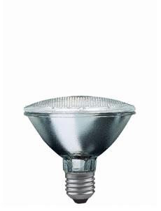 24950 Лампа галогенная 230V 50W Е27 30*flood PAR30 (D-95mm, H-95mm) (1500h) прозрачный 249.50 Halogen alu reflector PAR 30 50W E27 230V 95mm Clear Paulmann