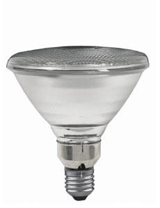 27975 Лампа галогенная 230V 75W Е27 30*flood PAR38 (D-122mm, H-136mm) (1500h) прозрачный 279.75 Halogen alu reflector PAR 38 75W E27 230V 122mm Clear Paulmann