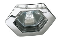 5753 Светильник встраиваемый шестигранный, GU5.3, 1x(max. 35W) Elegant material – high-quality finish. The halogen 12 V recessed lights of the Premium Line offer brilliant light and fulfil even the highest expectations for material quality and design. 57.53 Premium line recessed light, Hexa Chrome Paulmann