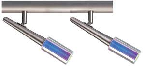 Spotlights Zinnia 2x40W G9 Nickel Satinised/glass 230V
