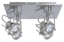 66172 Cветильник Квадро Техно, GU10, 4x50W The 4-lamp -Techno- spotlight features proven 230В volt halogen technology combined with an attractive design. The product includes a lamp, halogen 50В W GU10 230В V 51В mm (83656), on delivery and is suitable for wall and ceiling mounting. Thanks to the relatively concentrated light distribution, the product is particularly well-suited to the illumination of pictures and objects. 661.72 Spot Halogen Techno 4-lamp rondel incl. lamps 4x50W GU10 Paulmann