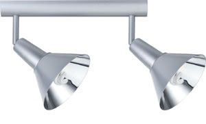 Spotlights Energy ESL beam 2x9W E14 Chrome matt 230V Metal,