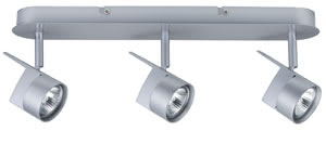 Spotlights EasyPower beam 3x50W GU5,3 Chrome matt 230/12V 105/60VA Metal
