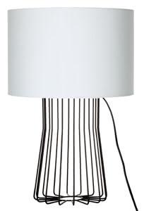 70183 701.83 Table & Desk Bresca max.60W E27 Table Lamp Black/White 230V Metal/Fabric Paulmann