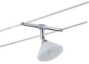7054 L&E Colmar WireSpot 35W GU4 Tit/Glas 70.54 Search results for 7054 Paulmann Lighting Paulmann
