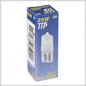 83176 Лампа галогенная 230V 40W G9 Tip (D-14mm, H-43mm) (1500h) сатин 831.76 TIP halogen HV capsule 40W G9 230V 14mm satin Paulmann