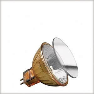 Low-voltage reflector lamp, accent, 35 W GU53, gold