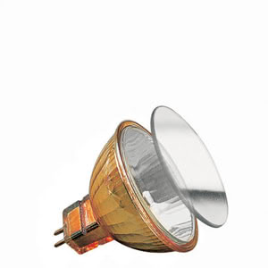 Halogen reflector Akzent front glass FMW flood 38° 35W GU5,3 12V 51mm Gold