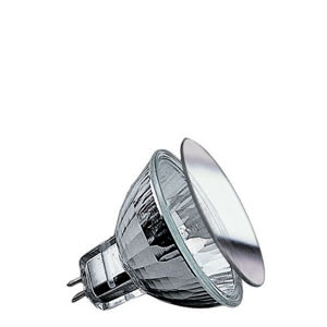 83246 Гал. рефлекторная лампа, GU5,3 50W Серебро Reflector lamps for directed light in spotlights, spots and downlights 832.46 Low-voltage halogen reflector lamp, security 50 W GU5.3, silver 12 V Paulmann