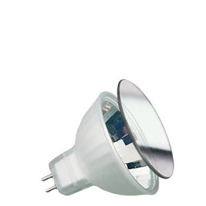 83321 Лампа галогенная 12V 20W GU5,3 38*BAB flood MR16 Juwel (D-51mm, H-45mm) (4000h) серебро Jewel  The lamp for special light experiences. The frosted version emits brilliant halogen light to the front and satin glimmering reflections to the back. 833.21 Paulmann