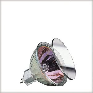 High-voltage halogen reflector lamp, cold light, 50 W GU5.3, rosГ©