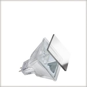 Low-voltage reflector lamp, Quadro 20 W GU5.3, silver 12 V