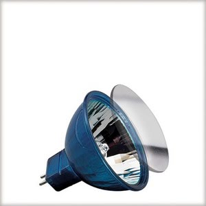 "83377 Лампа KLS Happy Color 20W GU5,3 12V 51mm Blau Happy Color  The Happy Color bulb is an honor to its name: It makes children""s rooms shine and little eyes sparkle. A modern halogen bulb in a colorful form for exciting light ambience and gaudy design diversity. 833.77 Low-voltage halogen reflector, happy colour, 20 W GU5.3, blue Paulmann"