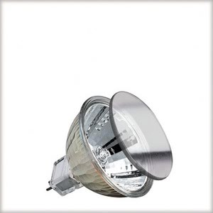 83381 Halogen KLS 35W GU5,3 12V 51mm Silber 833.81 High-voltage halogen reflector lamp, cold light, 35 W GU5.3, silver Paulmann