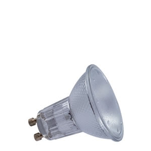 83634 Лампа галоген. 35W GU10 230V 51mm Silber Reflector lamps for directed light in spotlights, spots and downlights 836.34 High-voltage halogen reflector lamp 35 W GU10, silver 230 V Paulmann
