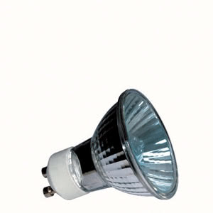 83641 Лампа HRL Xenon 50W GU10 230V 51mm Silber 836.41 High-voltage xenon reflector lamp, 50 W GU10, silver Paulmann