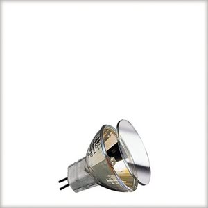 83834 Лампа Halogen KLS 2x35W GU4 12V 35mm, золото Gold  When comfort is desired candles are lit - or Paulmann Gold light is chosen. Thanks to specially grafted glass surfaces, this halogen bulb creates a warm, relaxed light atmosphere, without wax drippings. 838.34 High-voltage halogen reflector lamp, cold light, 35 W GU4 gold 12 V Paulmann