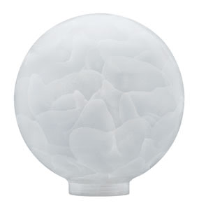 87513 875.13 Glass ESL, Globe 100, Soft opal Paulmann