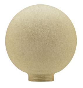 87515 Плафон Globe 100 Eiskristall Bernstein 875.15 Glass ESL, Globe 100, Ice crystal, amber Paulmann