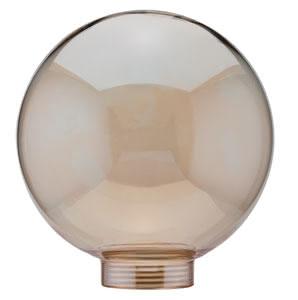 87516 Плафон Globe 100, золотой 875.16 Glass ESL, Globe 100, Gold Paulmann