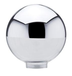 87518 Плафон Зеркальная головка для лампы Deco 105 мм 875.18 Glass ESL, Globe 100, Head mirror, silver Paulmann
