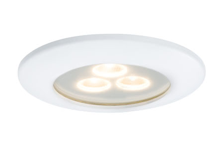 92584 Светильник IP44 Pearly LED 1x7,5W, белый Elegant material – high-quality finish. The individually swivelling LED recessed luminaires in the Premium Line offer efficient but homelike warm white LED light and meet the most stringent standards for material quality and design. 925.84 Premium Line recessed light, LED Pearly Matt white Paulmann