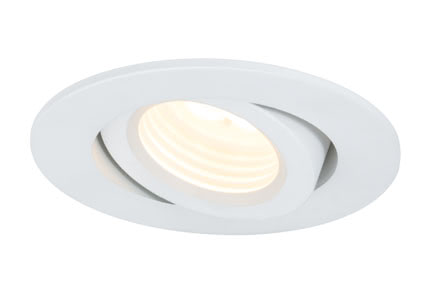 Premium Line recessed light, LED Creamy, Matt white