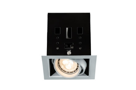 92666 Светильник Premium EBL Set Cardano LED 1x4W GU10 Ti Elegant material – high-quality finish. The individually swivelling LED recessed luminaires in the Premium Line offer efficient but homelike warm white LED light and meet the most stringent standards for material quality and design. Its extremely shallow installation depth allows the luminaire to be used on flat ceilings and in furniture. 926.66 Premium line recessed light set, Cardano LED1 Titanium, 1 pc. set Paulmann