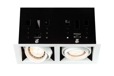 92668 Светильник Cardano LED 2x4W GU10, белый Edles Material – hochwertige Verarbeitung. Die individuell schwenkbaren LED Einbauleuchten der Premium Line bieten das effiziente und dabei wohnlich warmweiГџe LED- Licht und erfГјllen selbst hГ¶chste AnsprГјche an MaterialqualitГ¤t und Design. Die Г¤uГџerst geringe Einbautiefe erlaubt den Einsatz dieser Leuchte auch in flachen Decken oder in MГ¶beln. 926.68 Einbauleuchten-Set Premium Line Cardano LED 2 WeiГџ matt, 1er Set Paulmann