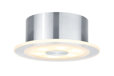 92684 Светильник накладной Set Whirl rund LED 1x6W 9VA Elegant material – high-quality finish. The decorative LED recessed lights of the Premium Line offer efficient but homelike warm white LED light and meet the most stringent standards for material quality and design. 926.84 Mounted lamp Premium Line LED Whirl 6W Alu., satin, single set Paulmann