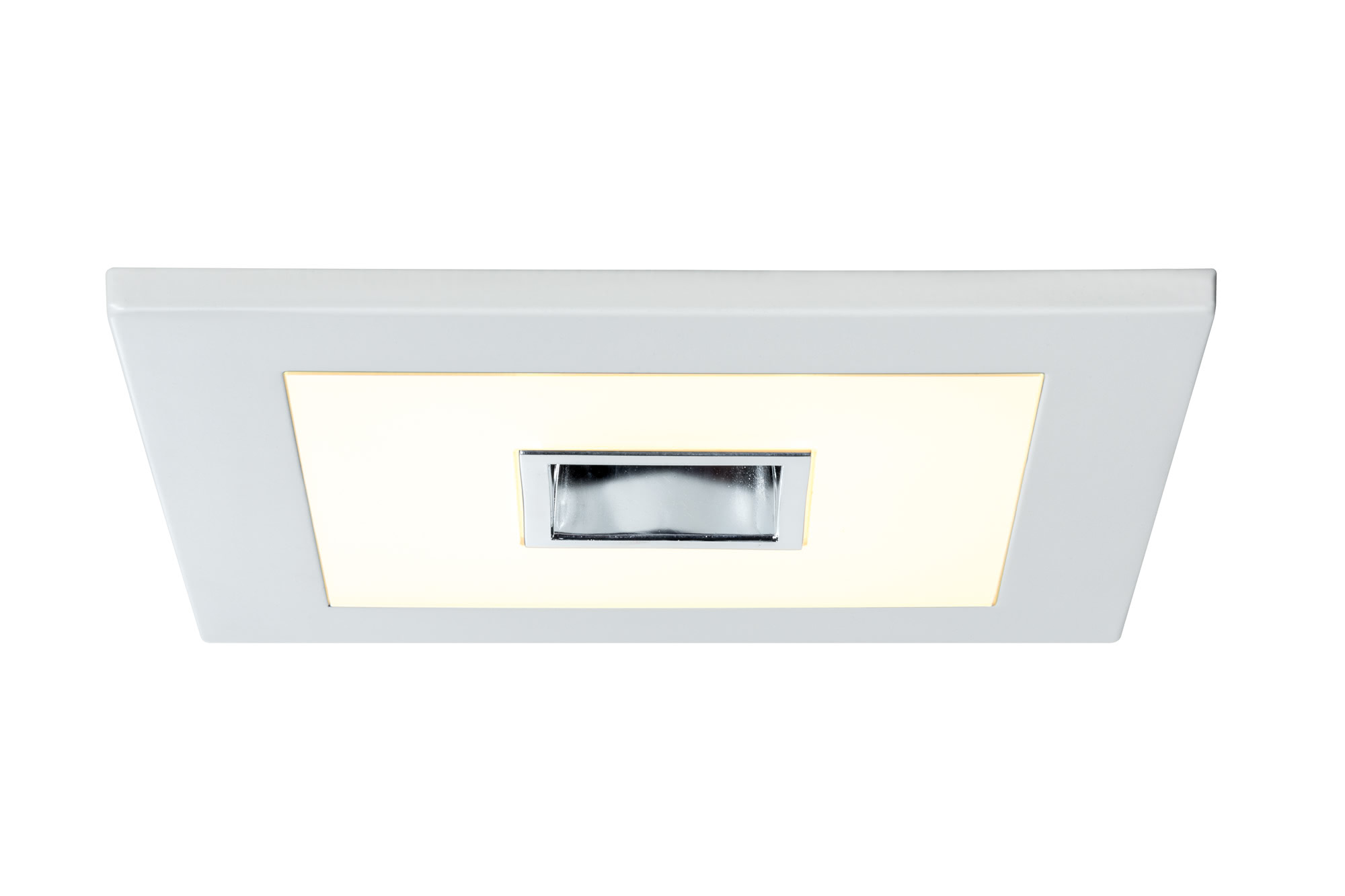 92711 EBL Anschlu?set Radium GU10 max.50W The Premium Quad LED panel provides generous light, built into a decorative panel. 927.11 Recessed panel Premium Line 16.8 W LED white Warm white, square, 1 pc. set Paulmann