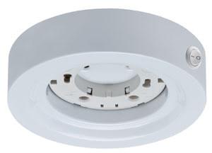 Möbel ABL rund ESL Disc max. 13W 230V GX53 Weiss/Metall