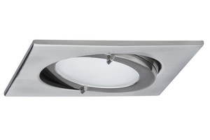 93531 Светильник мебельный Quadro schw. max.20W железо шероховатое The right choice for kitchens, bathrooms, etc.: The Micro Line IP44 Downlight furniture recessed luminaire set is splash-protected and will work well, for example to provide workspace illumination over the kitchen worktop, in wet rooms or close to showers and wash hand basins, giving off a brilliant light in complete safety. 935.31 Paulmann