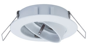 Premium line recessed light, 230 V White, Swivelling