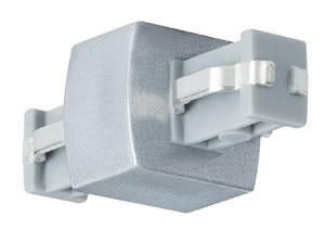 ULine, Rail system-accessories, Connector, 12V, Chrome matt