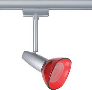 URS Light&Easy Spot Barelli 1x50W GZ10 Titan/Rot transp 230V Met/Gls