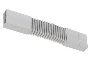 97345 Соединитель гибкий для шинной системы PHANTOM 230V L&E max.1000W 230V титан 973.45 Rail System flex connector Chrome matt 230V alu/glass Paulmann