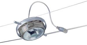 WireSystems HighWire Duo spot Roncalli Topaz 50W GU10 chr matt/Smoke glass 230V