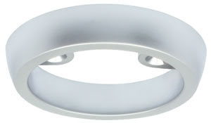 97541 Корпус для Светильника LED, круглый, The surface-mounted ring for the Special Line UpDownlight 1В W versions enables installation on e.g. stone, concrete or carpet with no installation depth. 975.41 Surface-mounted ring for UpDownlight LED special line Chrome matt, ⌀ 50 mm Paulmann