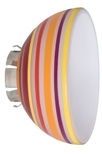 Wire+Rail System Schirm Extra Lampshade Sheela max.1x20W Multicolor Glas