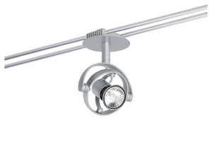 97677 976.77 Rail System LightEasy Spot Mac² R 1x20W GU4 Chrome matt 12V Plastic Paulmann